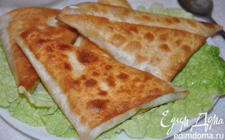 Рецепт Жареные пирожки из лаваша