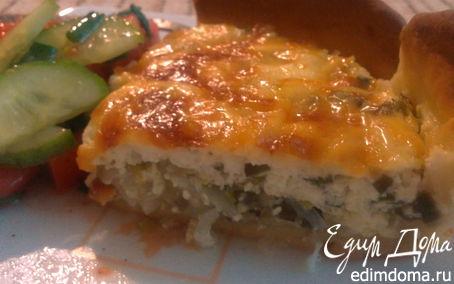 Рецепт Открытый луковый пирог