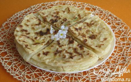 Рецепт Хычины с картофелем и сыром