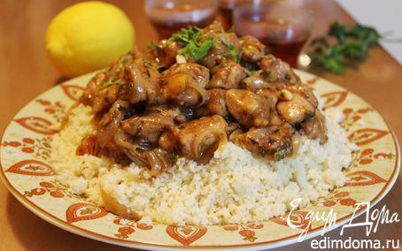 Рецепт Куриное филе по-мароккански с кускусом