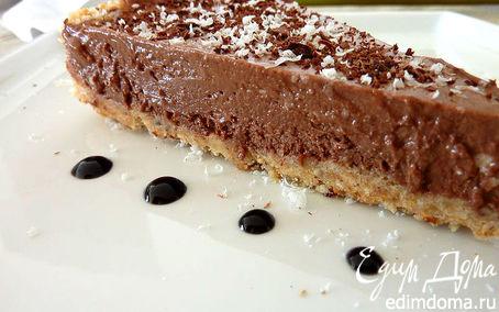 Рецепт Тарт с Шоколадным муссом