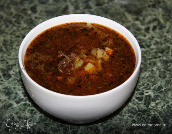 Тат - картофельный суп (Постная модификация)