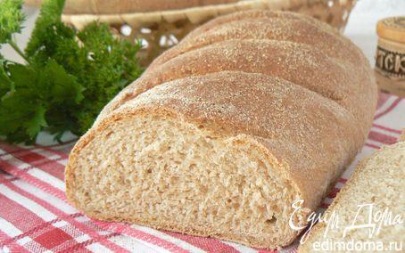 Рецепт Батоны ц/зерновые с отрубями