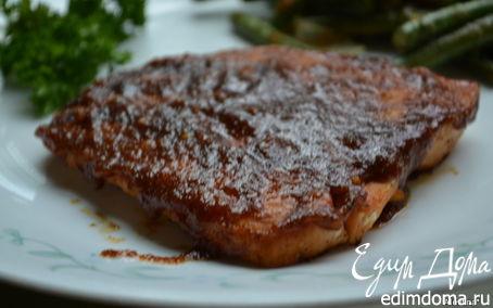 Рецепт Семга с пряным соусом