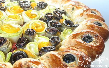Рецепт Средиземноморский пирог