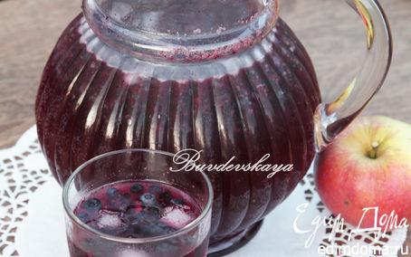 Рецепт Черничный лимонад