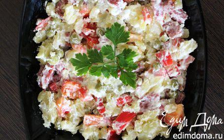 Рецепт – Немецкий салат с болгарским перцем