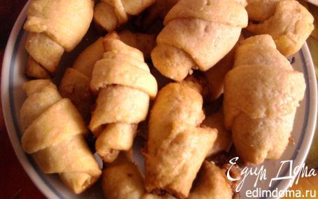 Рецепт Рогалики из песочного теста