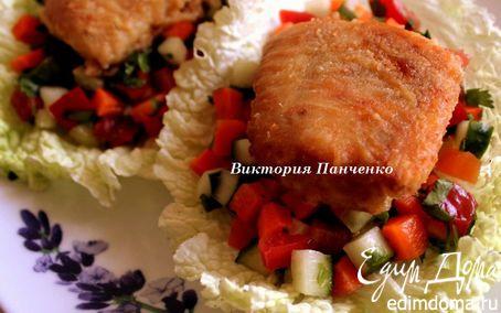 Рецепт Судак в соево-имбирном маринаде