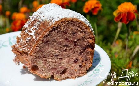 Рецепт Ежевичный джемовый кекс