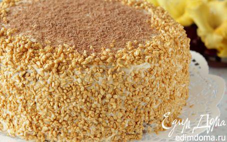 Рецепт Шоколадный медовик с черносливом в мультиварке