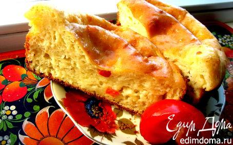 """Рецепт """"Ленивая банница"""" (пирог с брынзой)"""