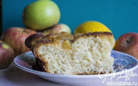 Рецепт Сдобный пирог с кокосовой карамелью