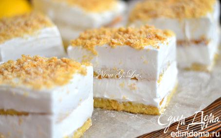 Рецепт Лимонное пирожное