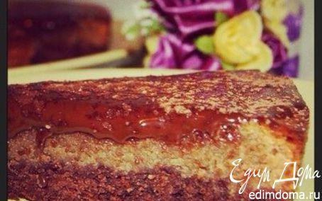 Рецепт Шоколадно-арахисовый тарт