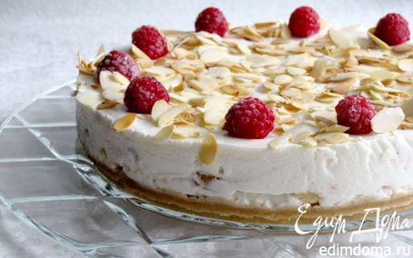 Рецепт Сливочно-йогуртовый торт с фруктами