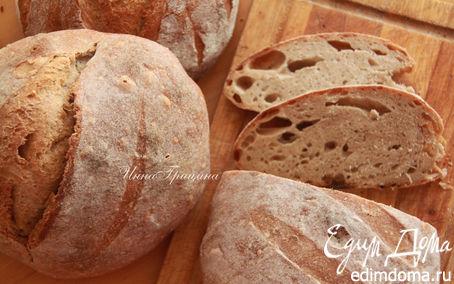 Рецепт Хлеб с фенхелем на виноградной закваске