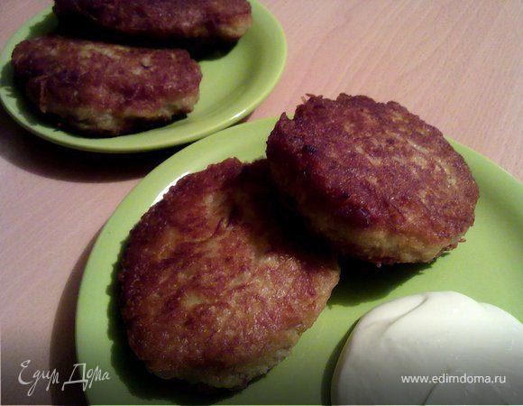 Драники картофельные (на завтрак для Ани)
