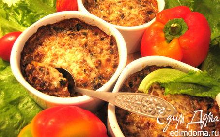Рецепт Жульен печеночный с грибами под сыром Джюгас