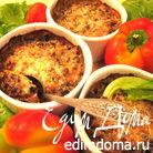 Жульен печеночный с грибами под сыром Джюгас