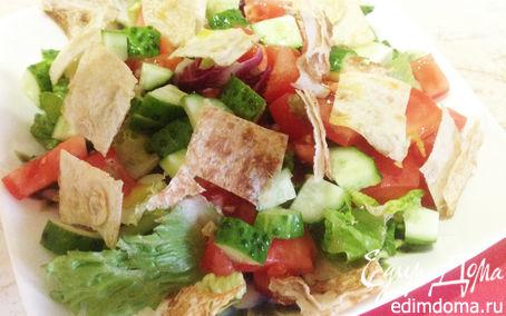Рецепт Фатуш (ливанский салат)