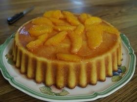Апельсиновый пирог с кампари
