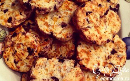 Рецепт Печенье с сыром и оливками