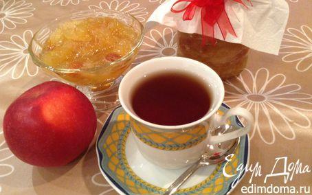 Рецепт джем из яблок с курагой