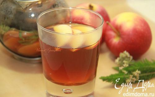 Рецепт Пряный яблочный чай
