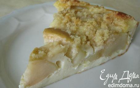Рецепт Яблочный пирог с карамельной крошкой