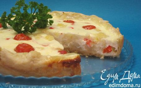 Рецепт Киш с цветной капустой