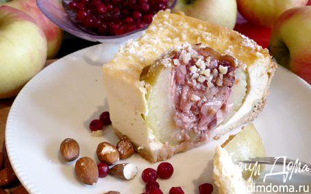 Рецепт Чизкейк с печеными яблоками «Утомленные солнцем»