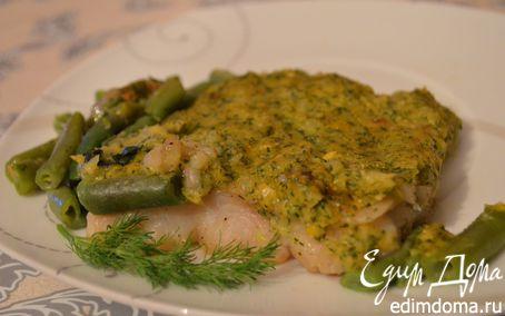 Рецепт Рыба, запеченная в кукурузном соусе