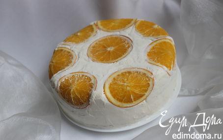 """Рецепт Торт """"Апельсиновая нежность"""""""