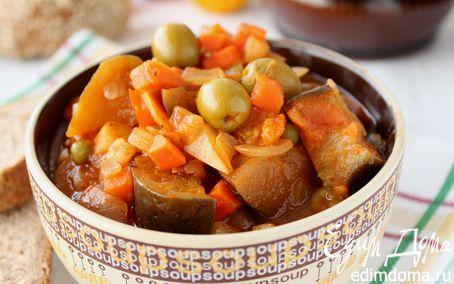 Рецепт Итальянское Овощное Рагу (CAPONATA SICILIANA)