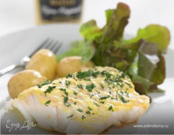 Рыба с дижонской горчицей