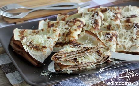 Рецепт Креспелле с паштетом из фасоли и тунца