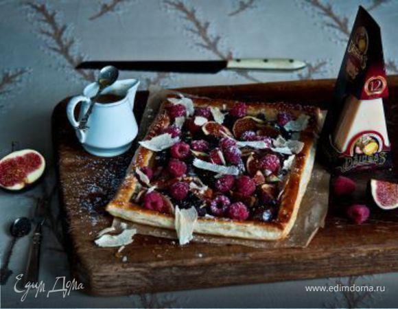 Слоеный пирог с инжиром
