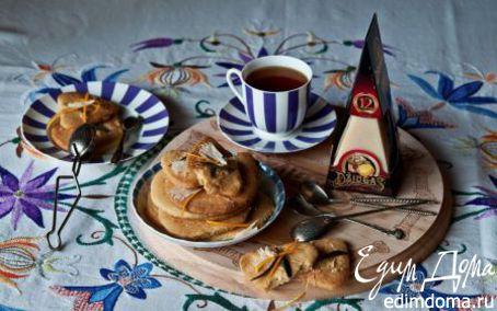 Рецепт Песочное печенье с апельсином и шалфеем