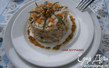 Рецепт Салат из капусты по-французски