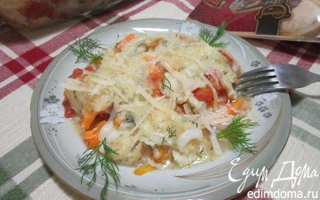 Рецепт Рыбная запеканка с сыром Джюгас