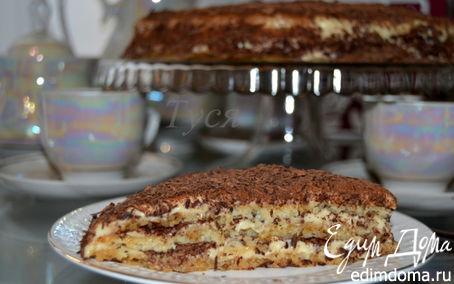 Рецепт Ледяной миндальный торт-семифреддо (Semifreddo)