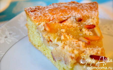 Рецепт Яблочная Кростата из Тренто (CROSTATA DI MELE DEL TRENTINO)