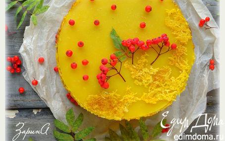 Рецепт Тыквенный десертный торт