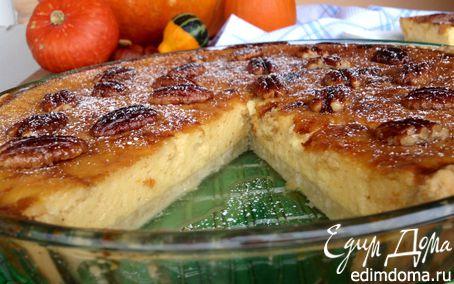 Рецепт Тыквенный пирог с орехами пекан