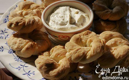 Рецепт Таралли со сметанным соусом