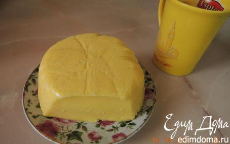 Рецепт Домашний твердый сыр