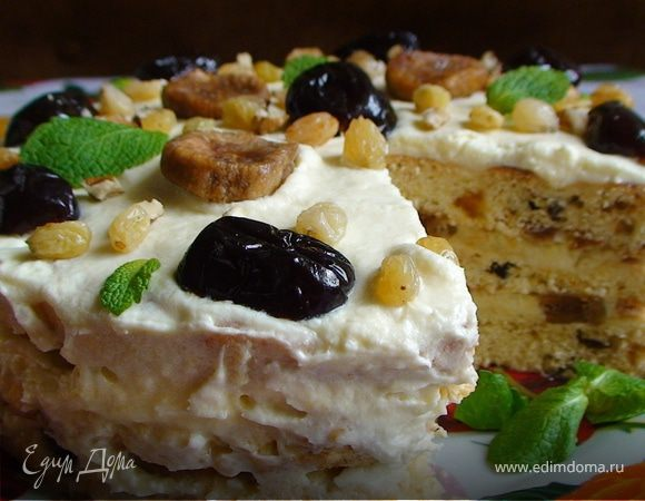 Финиковый торт