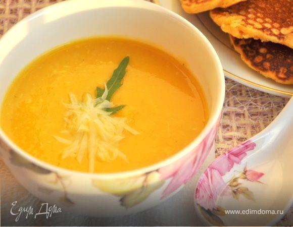 Тыквенно-кабачковый крем-суп