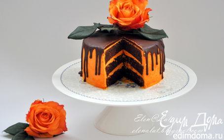 Рецепт Шоколадно-тыквенный торт